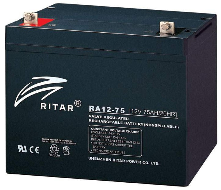 RITAR AGM 12V 75Ah - F11 Deep Cycle
