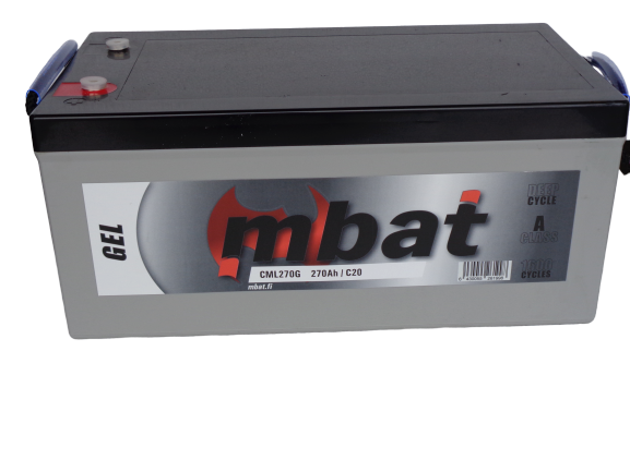 MBAT GEL BATTERY  270Ah / C20  DEEP CYCLE