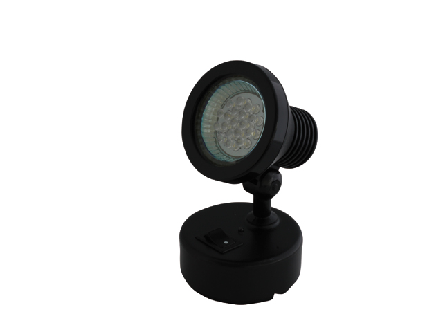 LED KOHDEVALO - WALL BERTH LIGHT BLACK