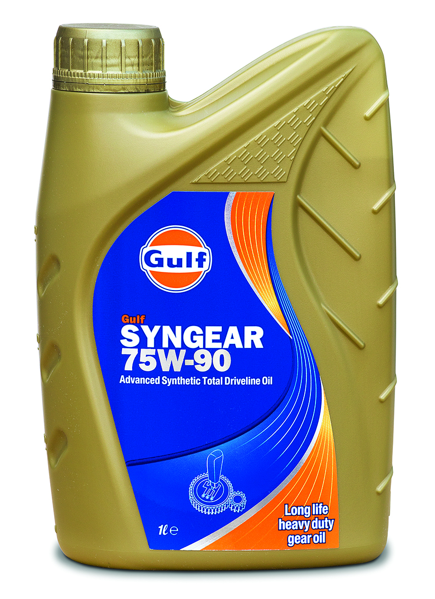GULF SYNGEAR Synthetic Gear Lube 1 Lit. 75W-90