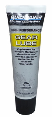 QUICKSILVER HIGH PERFORMANCE GEAR LUBE - 296ml.