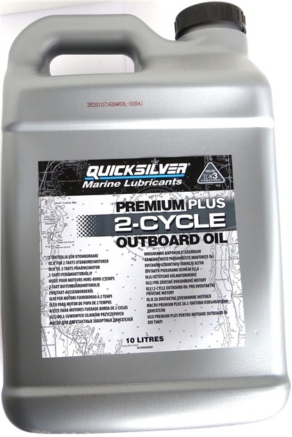 QS PREMIUM PLUS 2-CYCLE OUTBOARD OIL 10L TC-W3+