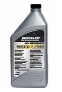 QUICKSILVER HIGH PERFORMANCE GEAR LUBE - 1 Lit.