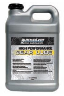 QUICKSILVER HIGH PERFORMANCE GEAR LUBE - 10 Lit.