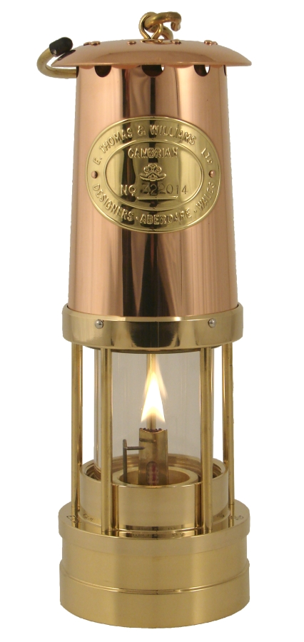WELSH MINER´S LAMPS BRASS/COPPER